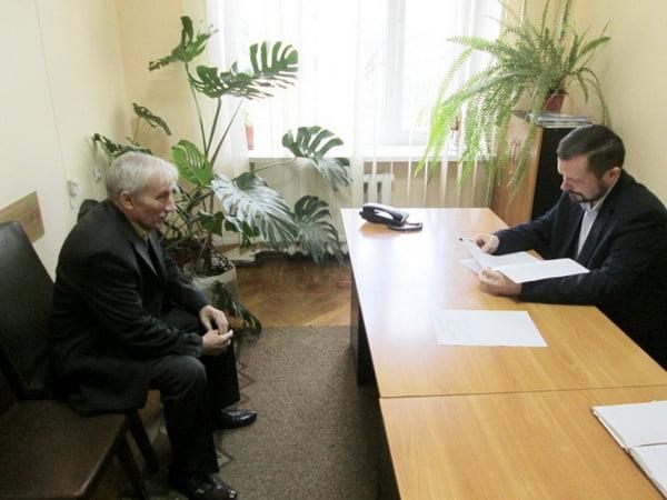 Цуканов ведет прием граждан