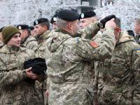В Николаеве 120 бойцов 1-го Феодосийского батальона морской пехоты им. Ольшанского торжественно получили черные береты   Корабелов.ИНФО image 1