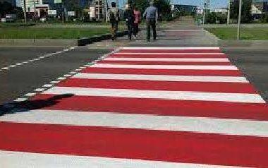 Поліція пропонує меру розфарбувати червоно-білим небезпечні переходи, в тому числі - у Корабельному районі   Корабелов.ИНФО
