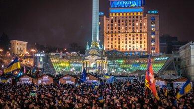 День Достоинства и Свободы: Украина отмечает годовщину революций (видео) | Корабелов.ИНФО image 4