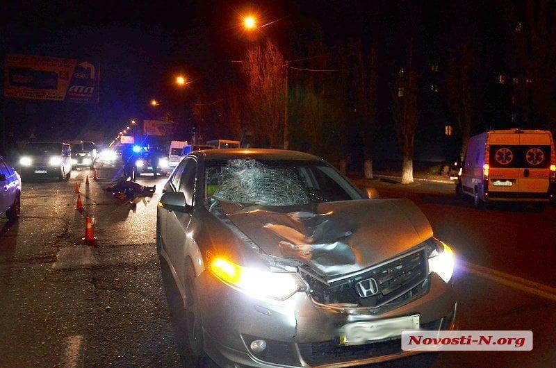 honda accord насмерть сбила пешехода
