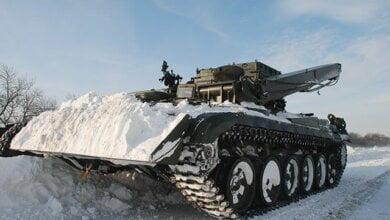 6 января выезды из Николаева перекрыли тяжелой военной техникой   Корабелов.ИНФО