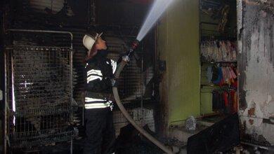 В Корабельном районе горел магазин «Секонд Хенд» | Корабелов.ИНФО image 1