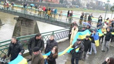 Украина отмечает День Соборности (ВИДЕО) | Корабелов.ИНФО