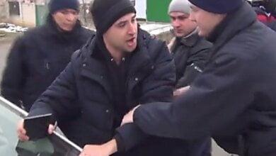 Представители «Дорожного контроля Николаев» устроили провокацию, заблокировав машину патрульных (видео) | Корабелов.ИНФО