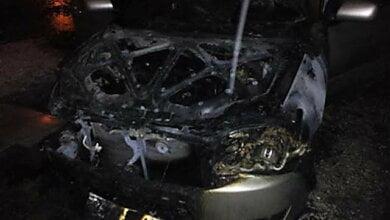 Покушение на машины экс-милиционеров в Николаеве: один автомобиль сгорел, второй - не успел   Корабелов.ИНФО image 2