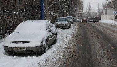В Николаеве во время метели брошенные на обочине автомобили будут эвакуировать, а грузовикам запретят проезд по городу   Корабелов.ИНФО