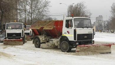 В Николаеве продолжает работу техника на дорогах   Корабелов.ИНФО