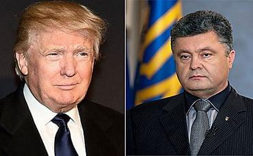 Photo of Трамп и Порошенко обсудили по телефону Донбасс и дальнейшее сотрудничество