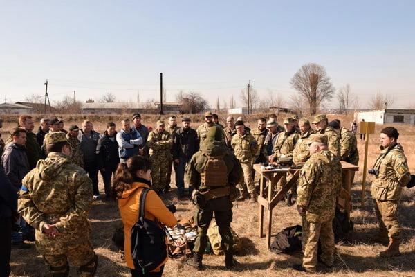 На полігоні Нацполіції в Матвіївці пройшли практичні заняття підрозділів територіальної оборони Миколаївщини   Корабелов.ИНФО image 4