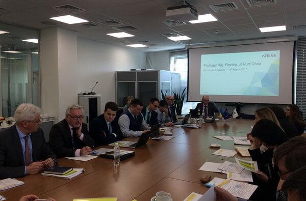 В Європейському банку реконструкції та розвитку відбулася нарада щодо реалізації Проекту концесії майна ДП «СК «Ольвія»   Корабелов.ИНФО image 1