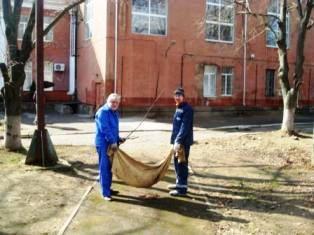Біля палацу культури «Корабельний» провели суботник   Корабелов.ИНФО image 3