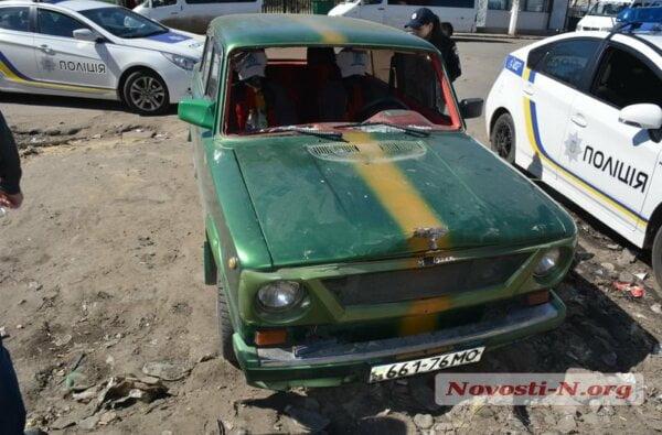 В Николаеве водитель «копейки» сбил пешехода, погрузил его в машину и скрылся с места ДТП | Корабелов.ИНФО image 1