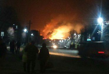 В результате диверсии на Харьковщине загорелся склад с боеприпасами – эвакуировано 20 тысяч человек | Корабелов.ИНФО