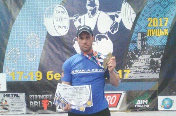 Сотрудник порта в Корабельном районе стал 4-кратным победителем Чемпионата Украины по пауэрлифтингу   Корабелов.ИНФО image 2