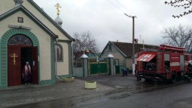 """У """"Жуковській"""" Церкві Святого Духа в Корабельному районі гасили умовну пожежу, евакуювавши людей   Корабелов.ИНФО image 1"""