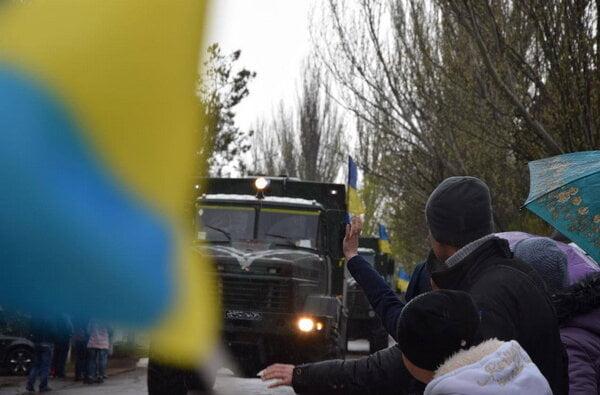 До Миколаєва із зони АТО повернулись бійці Нацгвардії | Корабелов.ИНФО image 1
