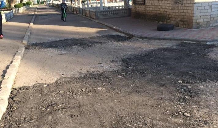 """""""Забытое Богом и мэром Кульбакино самостоятельно борется с ямами на дорогах""""   Корабелов.ИНФО image 2"""