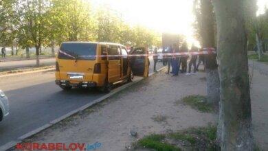 Стрельба в центре Корабельного района Николаева: трое напавших на водителя микроавтобуса сбежали | Корабелов.ИНФО image 5
