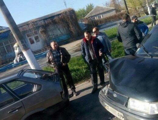 Возле головы Черномора в Корабельном районе столкнулись два «ВАЗа», один из которых - учебный | Корабелов.ИНФО image 1