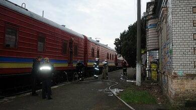 В Кульбакино пожарный поезд потушил горящее здание | Корабелов.ИНФО image 1