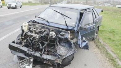 """В результате столкновения «ВАЗ» и «Камаз» на объездной дороге пострадал водитель """"легковушки"""", - полиция   Корабелов.ИНФО image 1"""