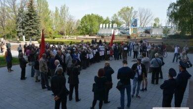 Вопреки запрету властей в Николаеве состоялся первомайский митинг   Корабелов.ИНФО image 1
