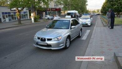 На центральном проспекте в Николаеве автомобиль сбил пешехода на переходе   Корабелов.ИНФО