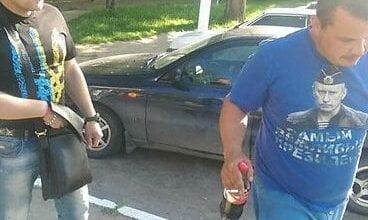 На Одесчине АТОшник заставил мужчину снять провокационную футболку с Путиным | Корабелов.ИНФО image 1