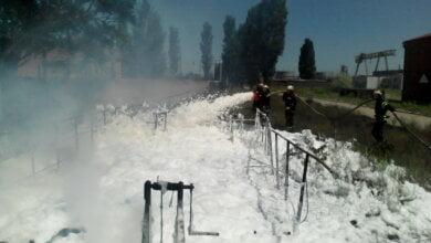 Пожар на предприятии в Корабельном районе возник из-за нарушений хранения нефтепродуктов | Корабелов.ИНФО image 1