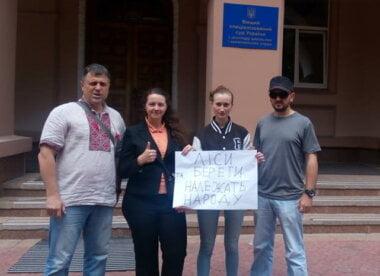 Громаді повернуто першу ділянку коштовного берегу у Коблево (відео)