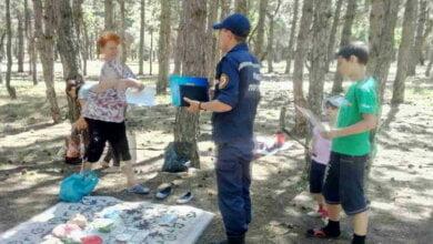 Photo of Бережіть ліс від вогню!!! Під час рейду у Балабанівському урочищі відпочиваючим доведено правила безпечної поведінки
