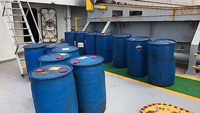На теплоходе из Гвинеи, прибывшем в порт у НГЗ, обнаружены нелегальные химические вещества | Корабелов.ИНФО