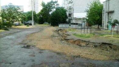 Photo of Продолжается ремонт внутриквартального проезда по пр. Богоявленскому, 325/1