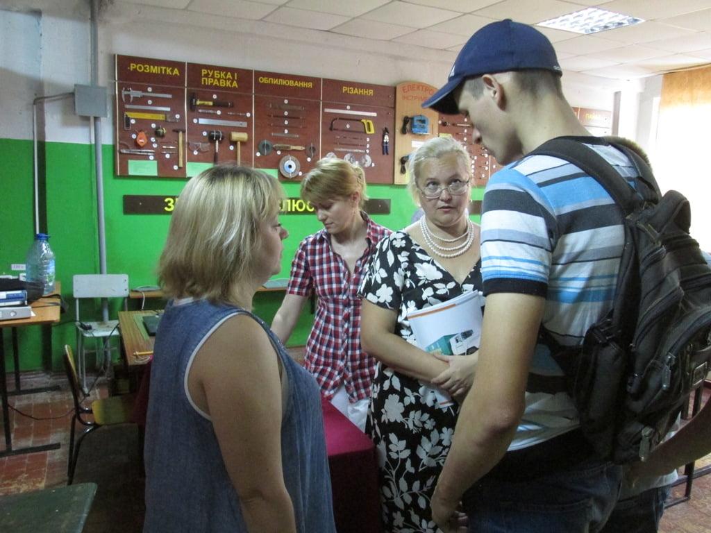 Фахівці Корабельного районного Центру зайнятості зустрілися з випускниками ВПУ Суднобудування   Корабелов.ИНФО image 3