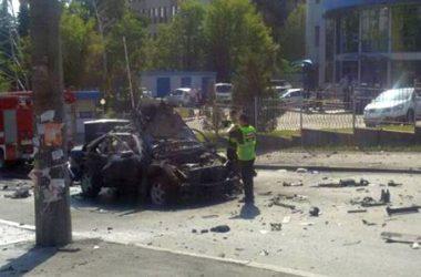 От взрыва автомобиля в Киеве погиб руководитель спецназа ГУР Минобороны   Корабелов.ИНФО