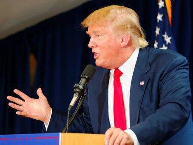Трамп закончил свою речь. Что вам сказать? Это было очень сильно. Это было очень красиво и театрально