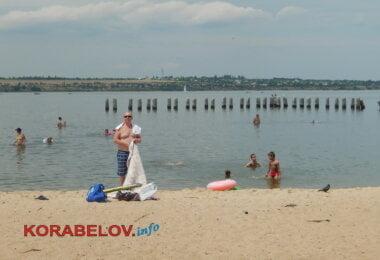 пляж в Корабельном районе