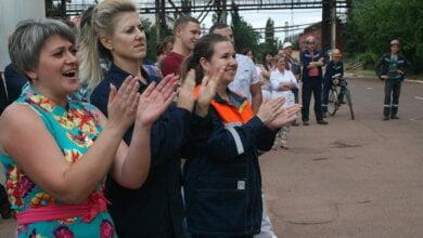 Photo of Угадывали мелодии и демонстрировали здоровье на НГЗ. «Сколько призов получили в этот день металлурги – не сосчитать!»