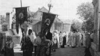 На торжество закладки нового храма в 1895 году из Богоявленска в Балабановку двинулась тысячная процессия... | Корабелов.ИНФО image 1