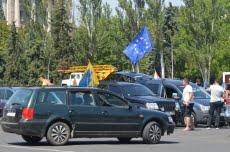 Водители авто с иностранной регистрацией провели в Николаеве автопробег за снижение стоимости таможенных ставок | Корабелов.ИНФО image 1