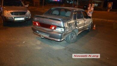 На проспекте Богоявленском столкнулись Volkswagen, «Лада» и SsangYong | Корабелов.ИНФО image 1
