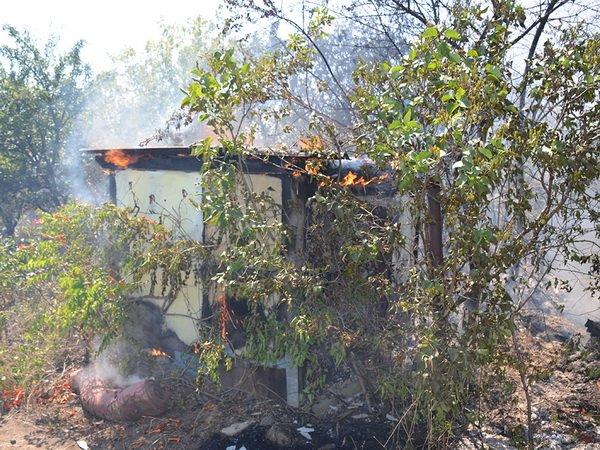 Рятівники з Корабельного району вкотре боролися з масштабною пожежею | Корабелов.ИНФО image 3