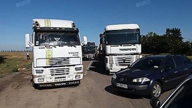 Под Николаевом около 20 водителей грузовиков отказываются заезжать на весовой контроль | Корабелов.ИНФО image 5