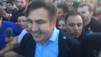 Саакашвили прорвался в Украину. ВИДЕО | Корабелов.ИНФО