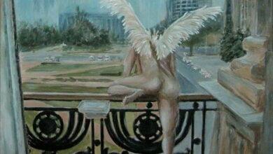 Побег Сенкевича от полиции через балкон вдохновил николаевскую художницу на написание картины | Корабелов.ИНФО