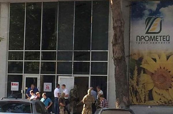 Обыски в офисах группы компаний «Прометей» проводят полицейские из Департамента защиты экономики   Корабелов.ИНФО image 3