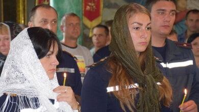 Миколаївські рятівники перед своїм професійним святом завітали до храму «Усіх Святих» на богослужіння   Корабелов.ИНФО image 3
