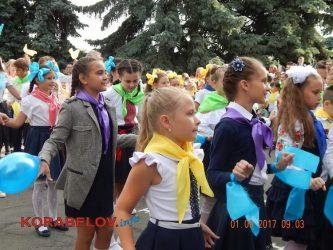 Оберіг, Вінні-Пух, родинні галстуки... Школа у Корабельному відзначає свій 65-річний ювілей (ВІДЕО)   Корабелов.ИНФО image 1