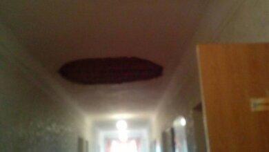 Во время занятий рухнул потолок с люстрой в школе Корабельного района   Корабелов.ИНФО